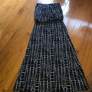 Sweet pea strapless long dress size large